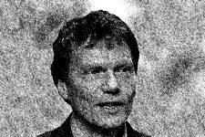 Zeichnung Soziologe Hartmut Rosa schwarzweiß