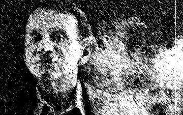 Bestsellerautor Michel Houellebecq französischer Schriftsteller