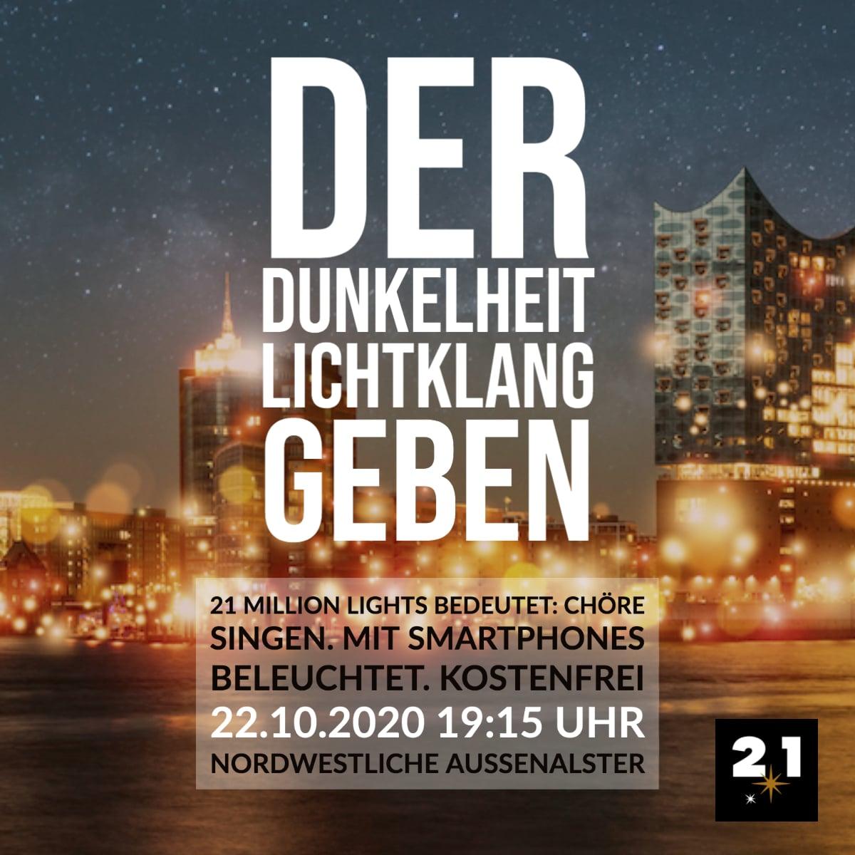 21 Million Lights-Licht-Klang-Hamburg-Hafen-Nacht