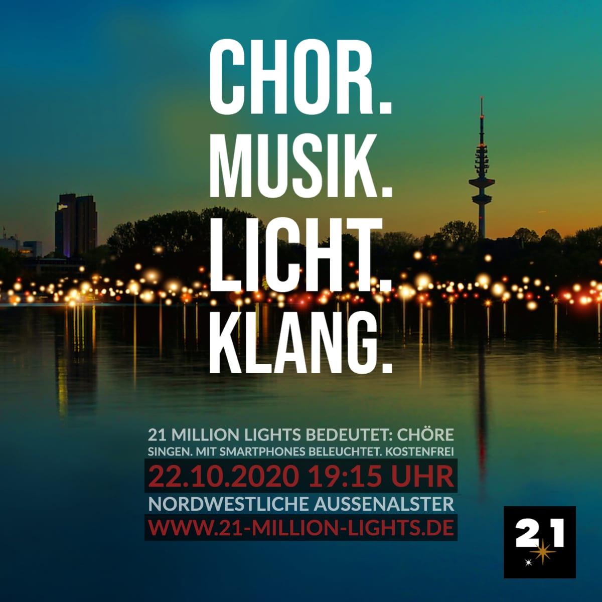 21 Million Lights-Licht-Klang-Hamburg-Außenalster-Nacht-Post