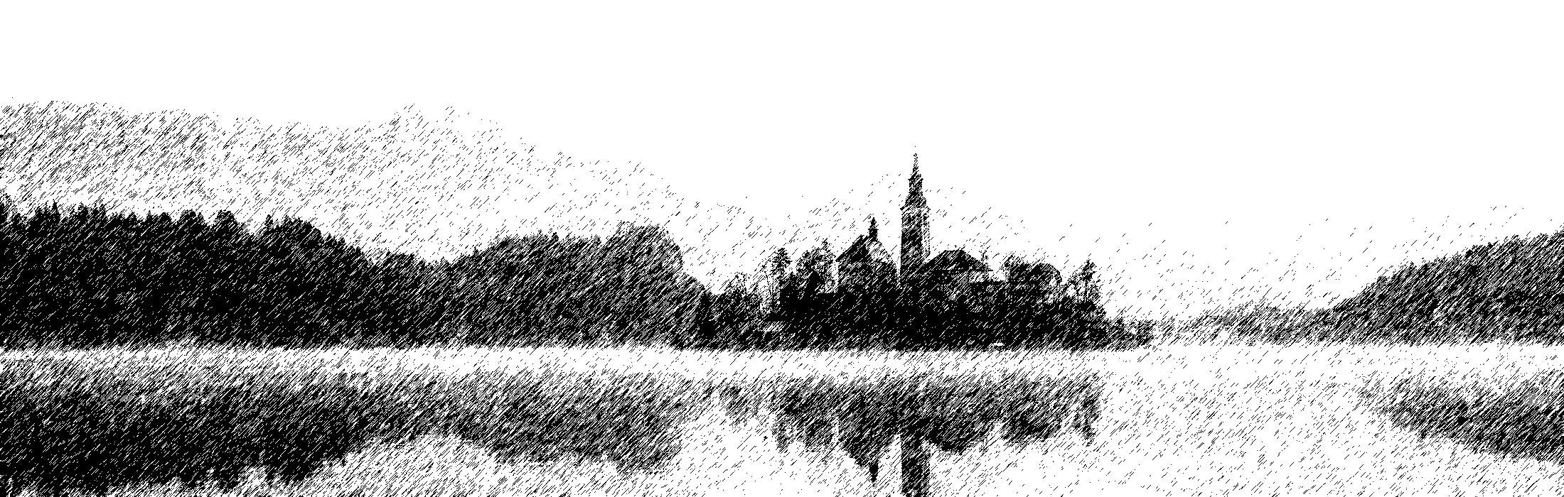 Zeichnung in Schwarz weiß, passend zu der alten Zeit und Geschichte der Sapiens