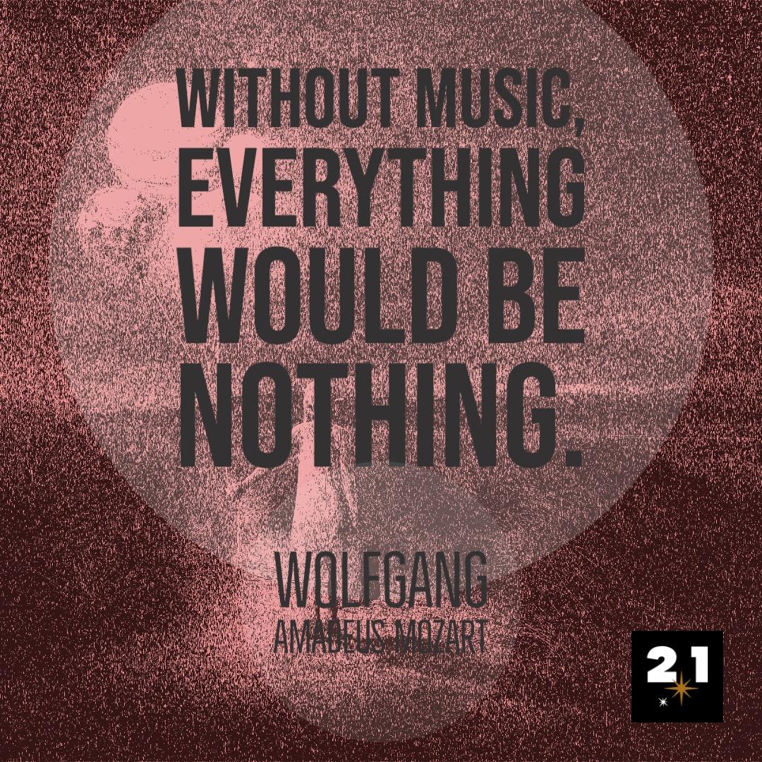 Mozart spricht über Musik