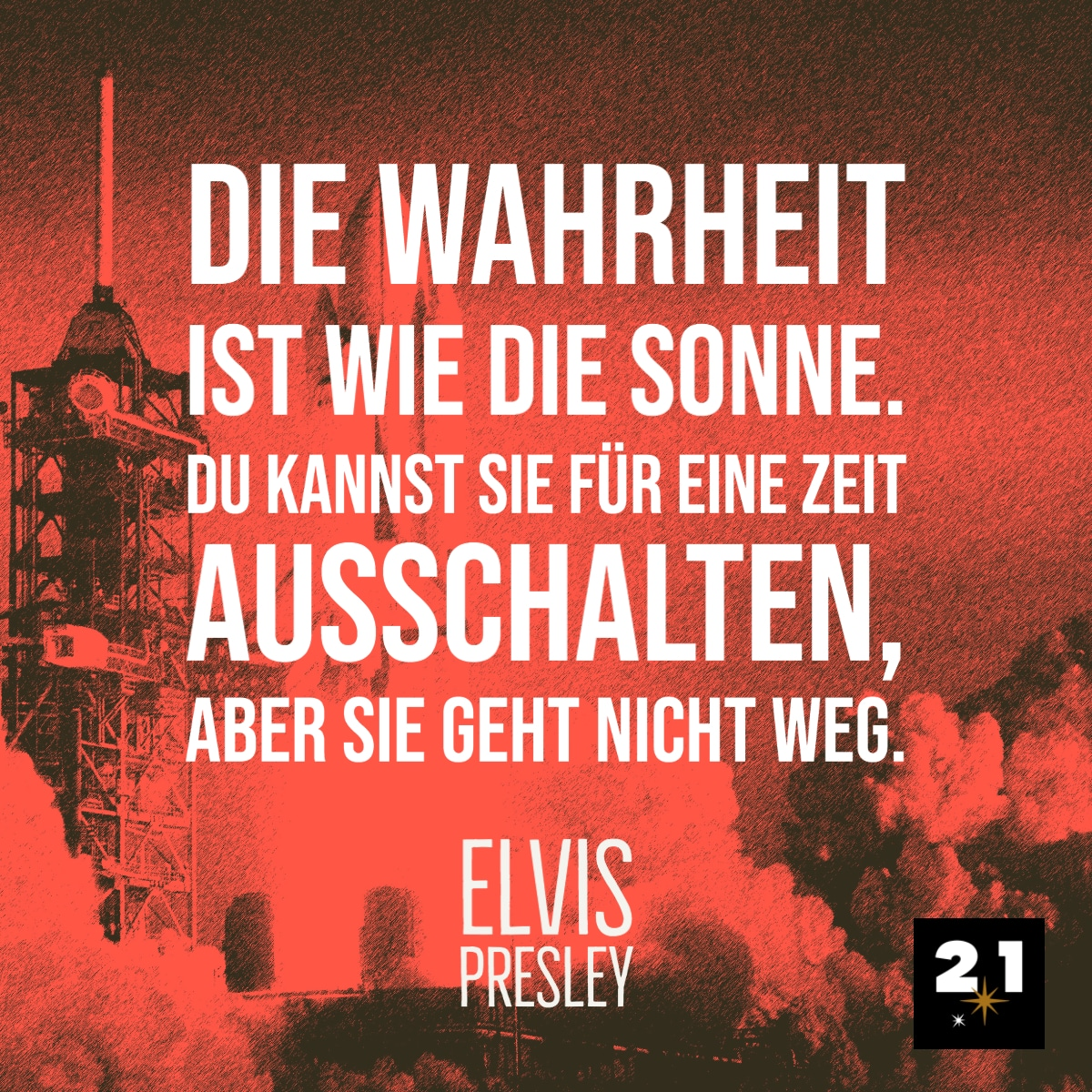 Elvis Presley spricht