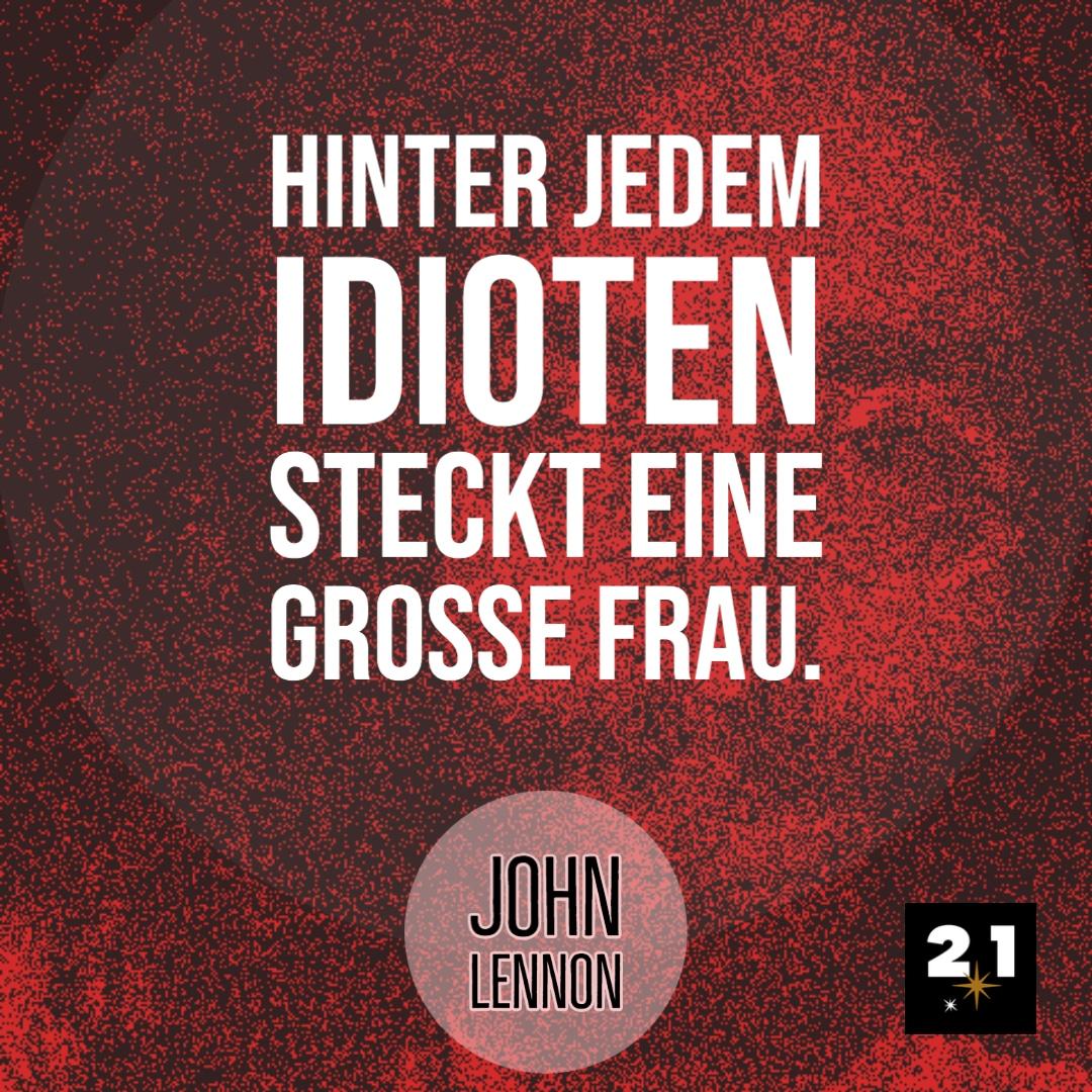 John Lennon & Idioten