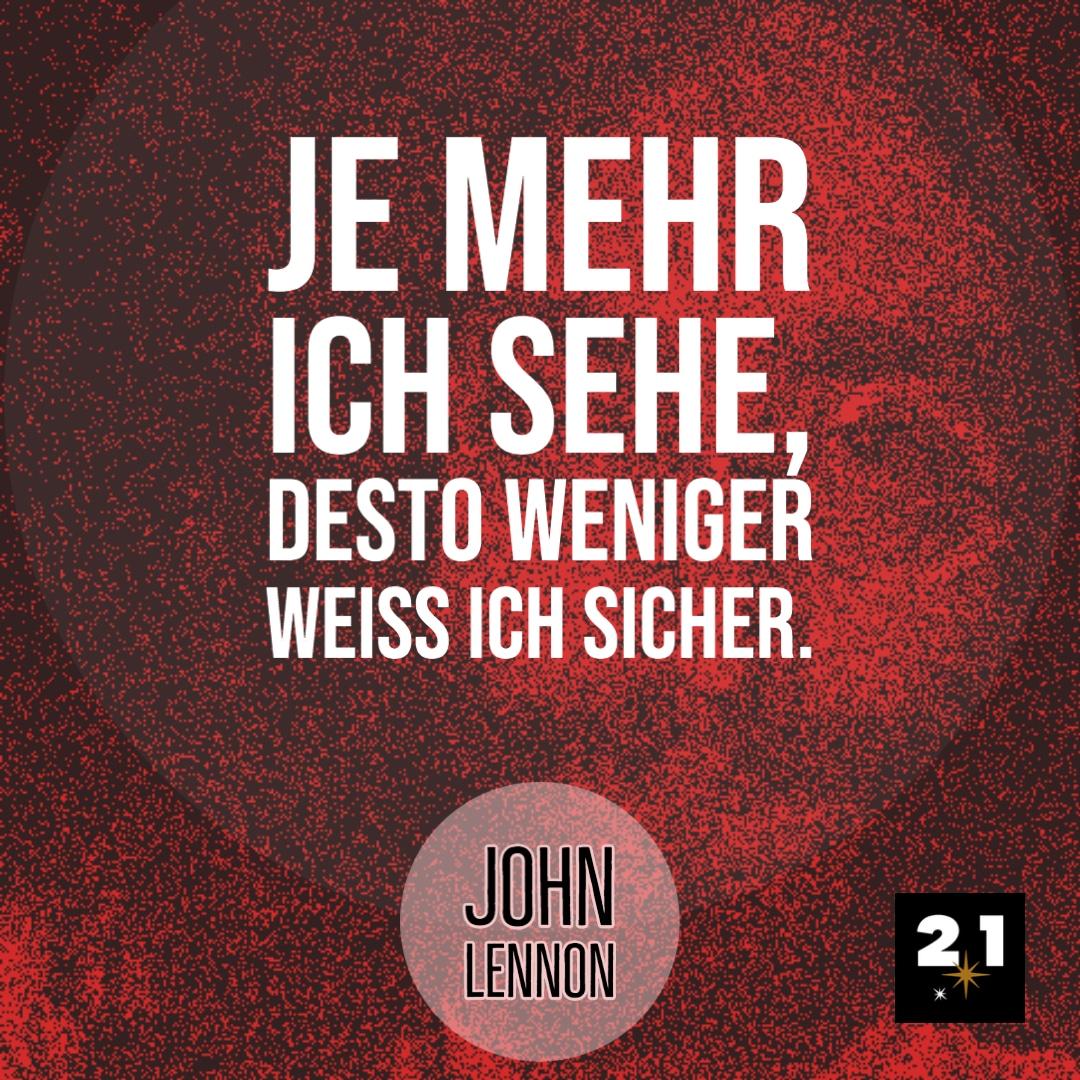 John Lennon & Wissen