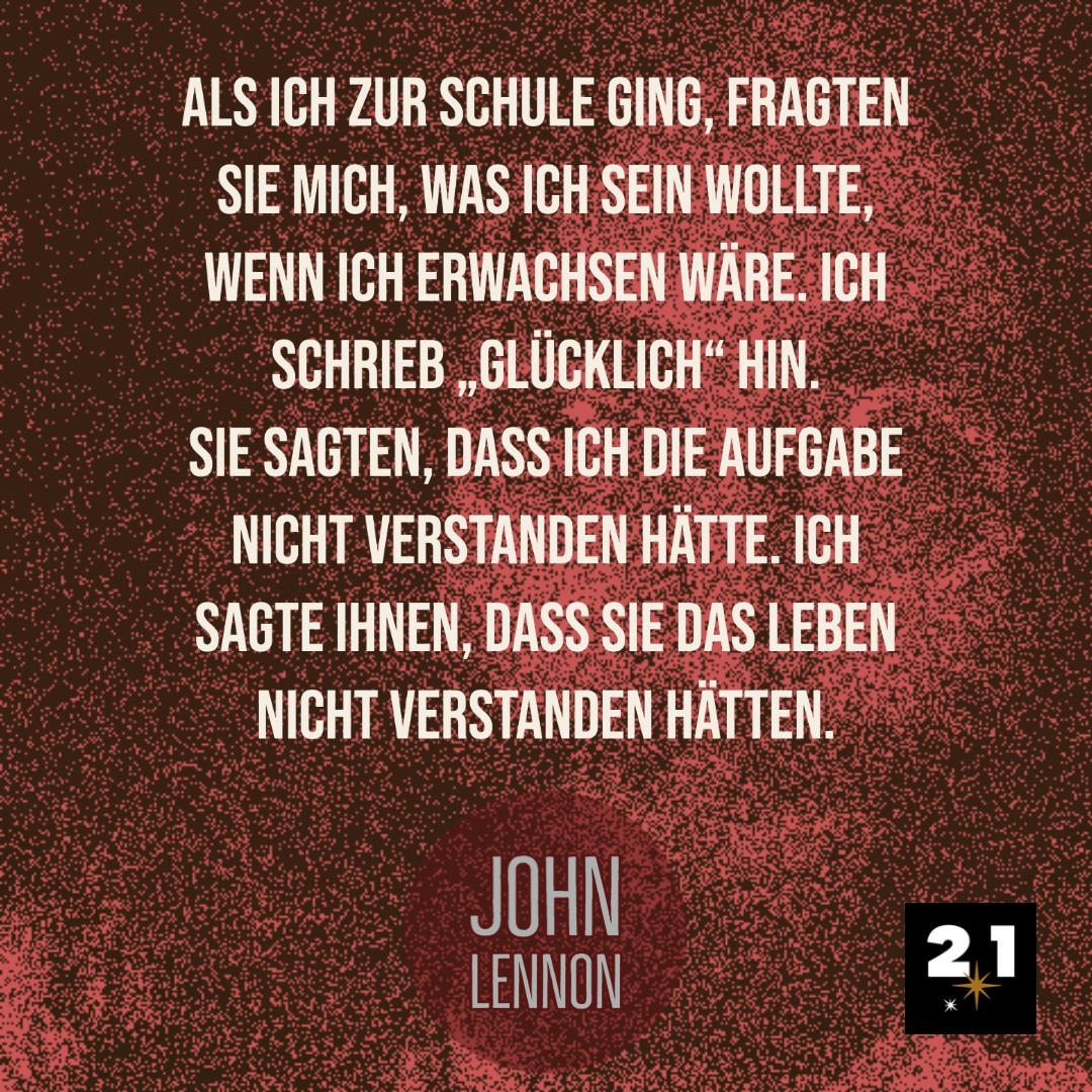John Lennon & Glück