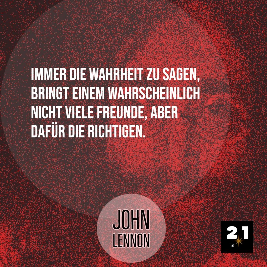 Lennon spricht über die Wahrheit