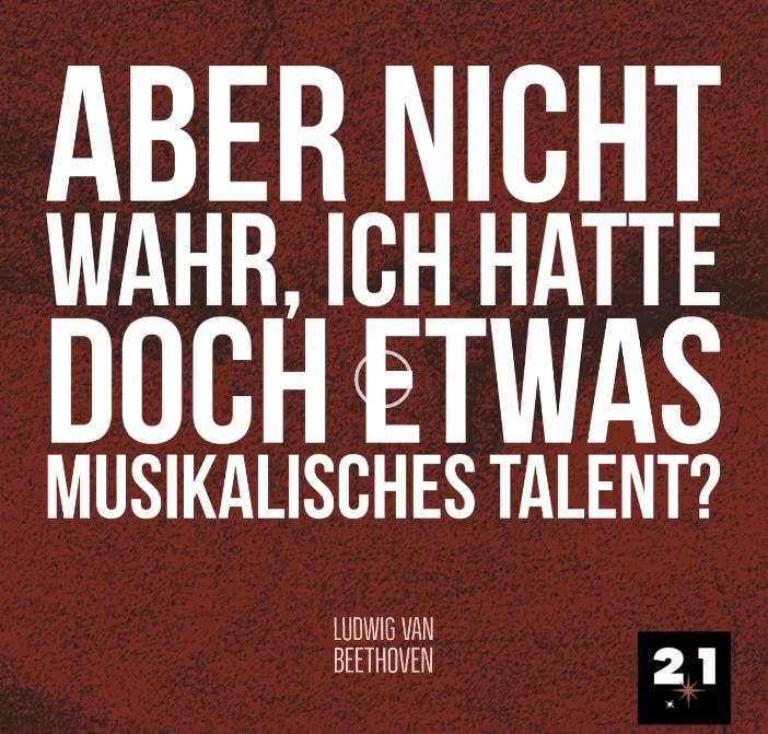 Beethoven & Talent