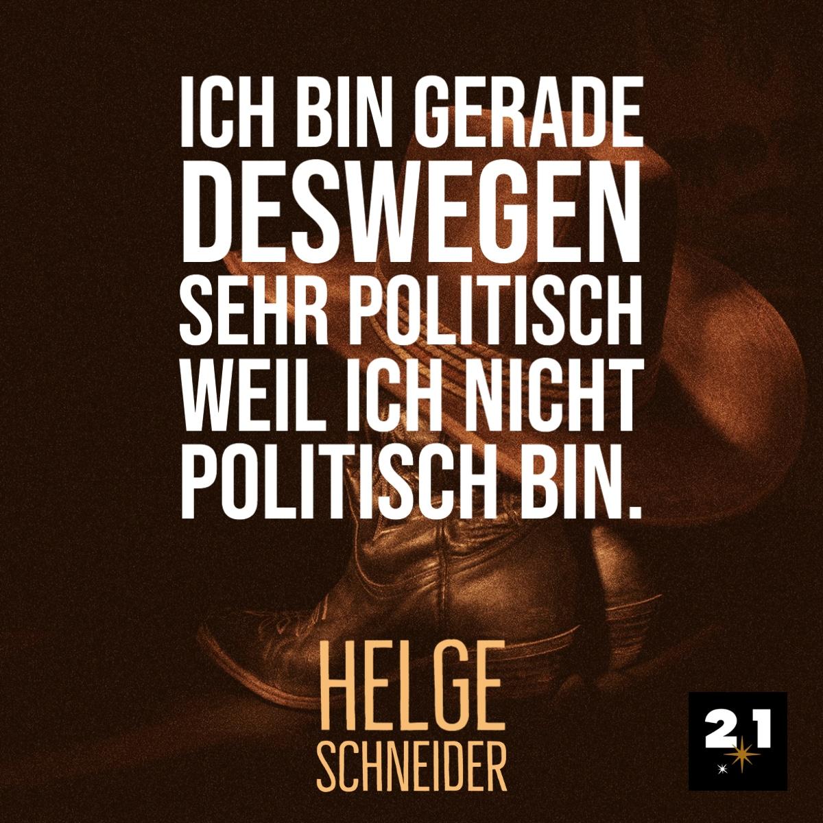 Helge Schneider & Spruch
