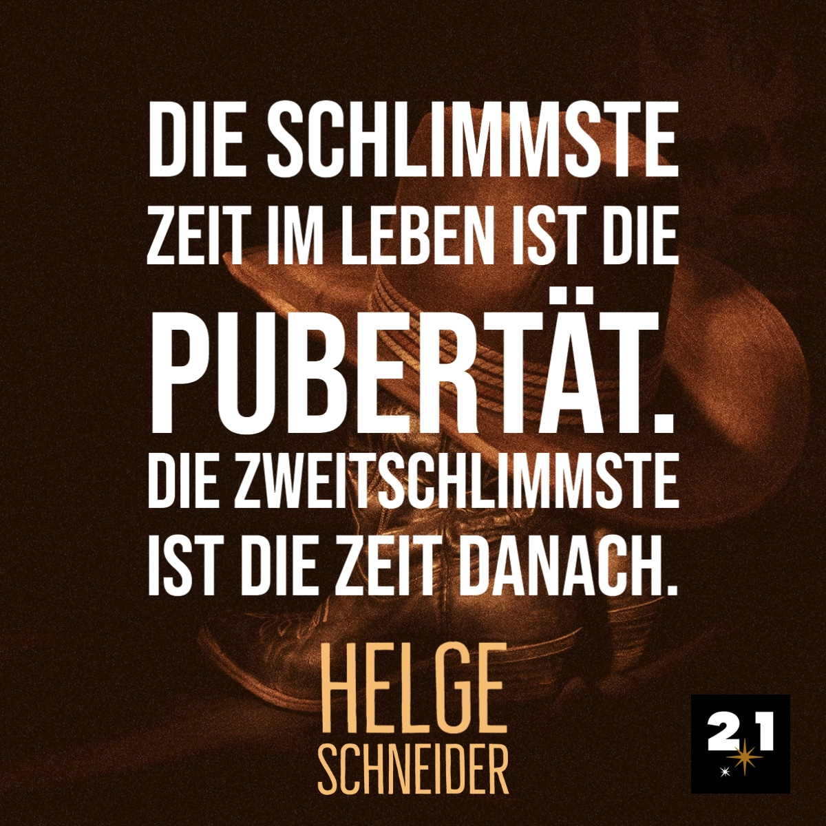 Helge Schneider / Zeit