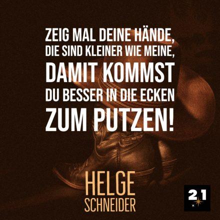Helge Schneider & Putzen
