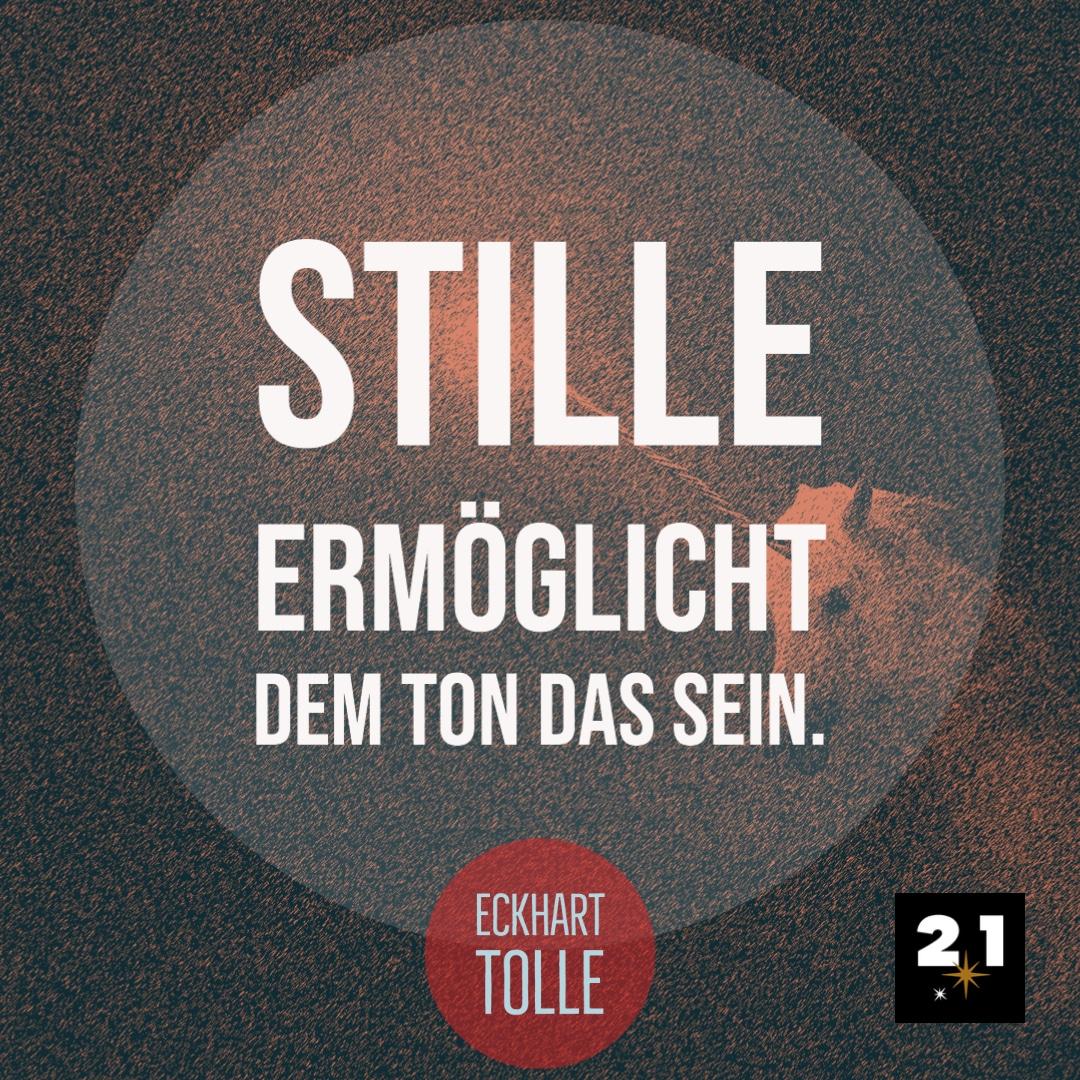 Eckhart Tolle & Stille