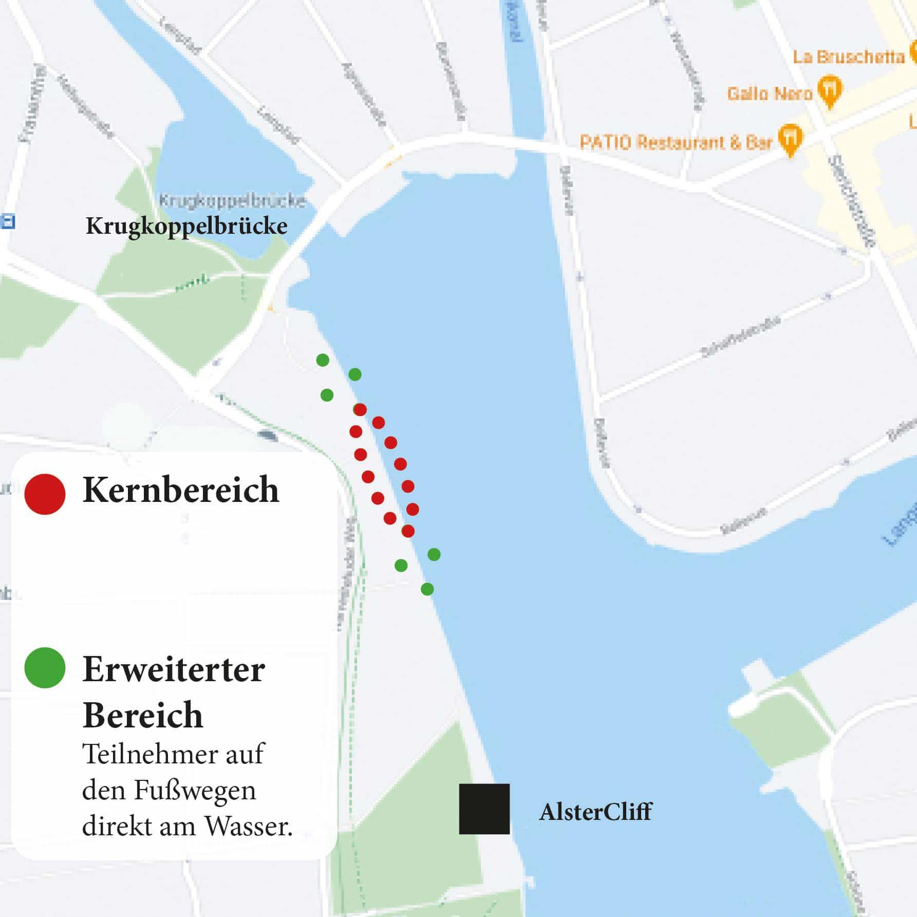 21 Million Lights Lageplan 2020 Dezember Hamburg