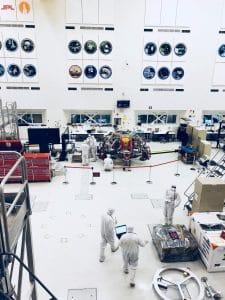 Innenraum der NASA