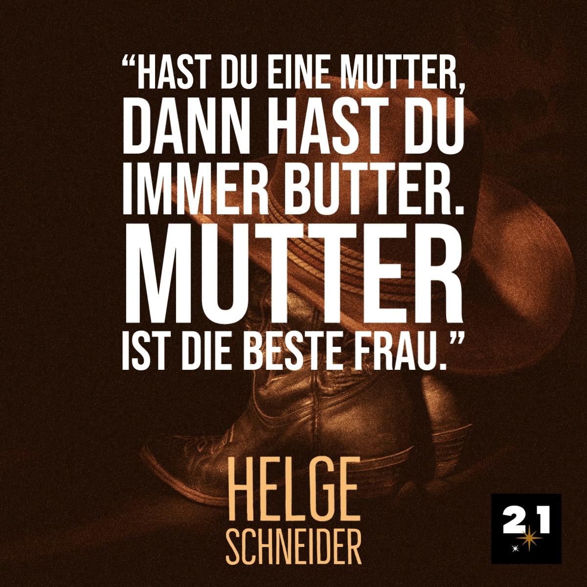 Helge Schneider & Mutter