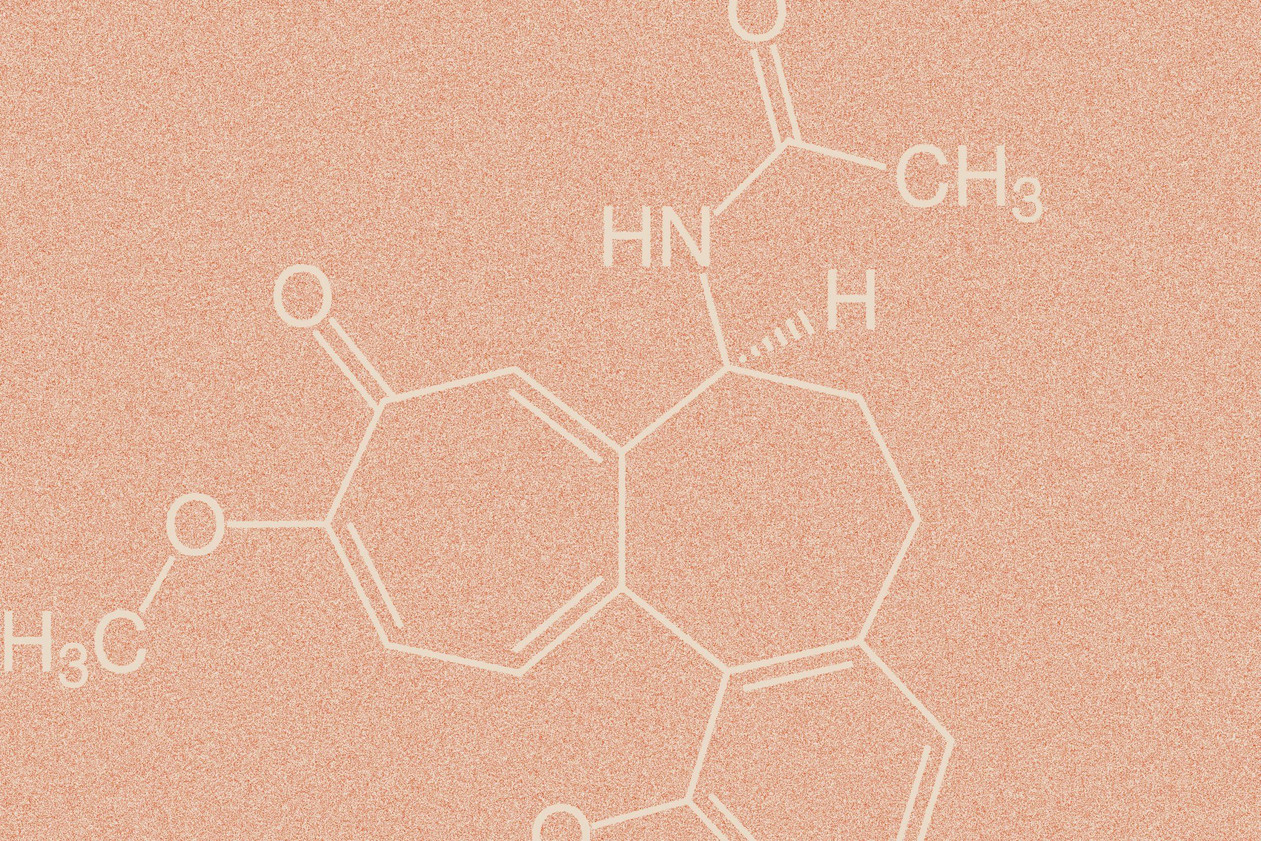Gichtmittel Colchicin Formel
