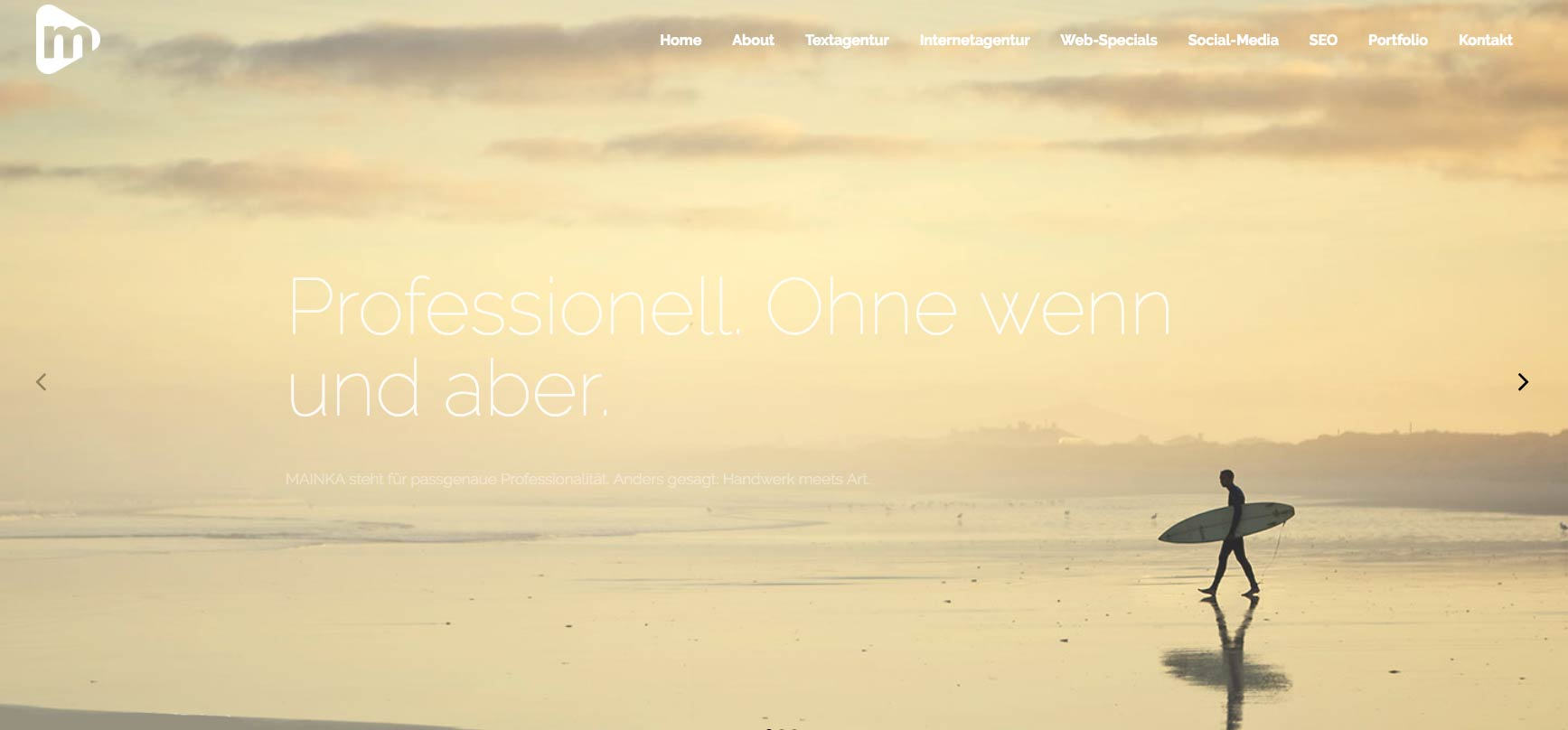 Bild von der Homepage Mainka