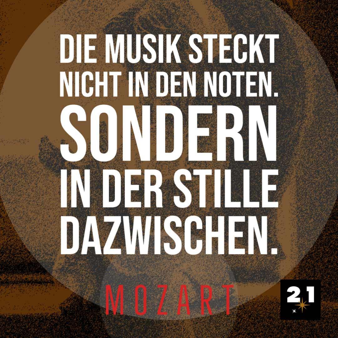 Zitat Mozart