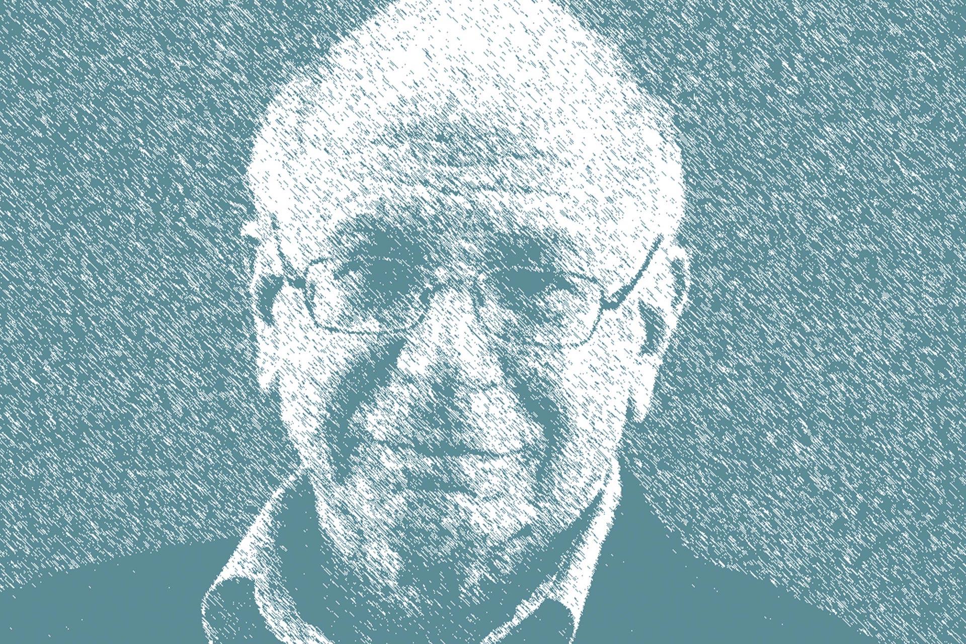 Psychologe Daniel Kahneman, Zeichnung