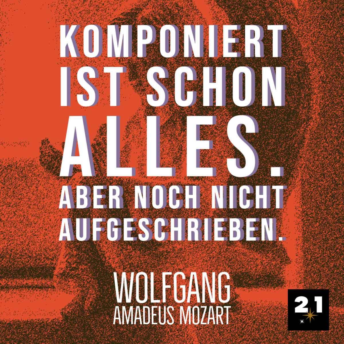 Mozart Zitat